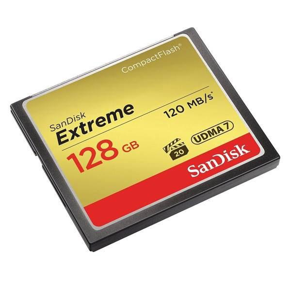 کارت حافظه CompactFlash سن دیسک Extreme سرعت 120M ظرفیت 128گیگ