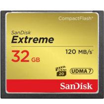 کارت حافظه CompactFlash سن دیسک Extreme سرعت 120M ظرفیت 32گیگ