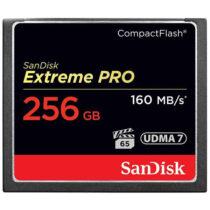 کارت حافظه CompactFlash سن دیسک مدل Extreme Pro سرعت 160M ظرفیت 256گیگ