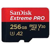 کارت حافظه microSDHC سن دیسک مدل Extreme Pro کلاس 10 ظرفیت 256 گیگ