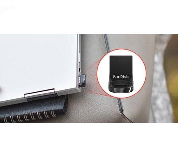 فلش مموری سن دیسک مدل Ultra Fit ظرفیت 256 گیگابایت