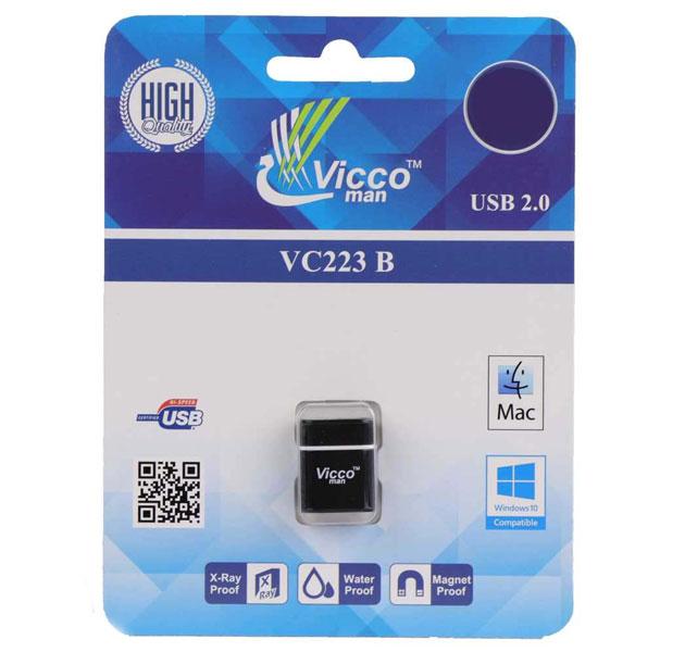 فلش مموری Vicco USB2.0 Vc223 ظرفیت 64گیگ