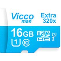 کارت حافظه microSDHC ویکومن مدل Extre 320X ظرفیت 16گیگ همراه با آداپتور