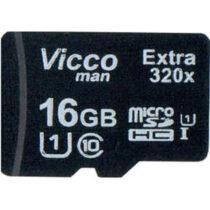 کارت حافظه microSDHC ویکومن 16گیگ مدل Extre 320X کلاس 10