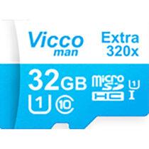 کارت حافظه microSDHC ویکومن مدل Extre 320X ظرفیت 32گیگ همراه با آداپتور