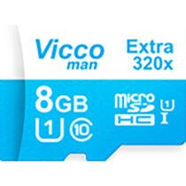 کارت حافظه microSDHC ویکومن مدل Extre 320X ظرفیت 8گیگ همراه با آداپتور