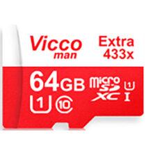کارت حافظه microSDHC ویکومن مدل Extra 433ظرفیت 64 گیگ