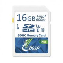 کارت حافظه SDHC ویکومن مدل Extra 600X سرعت 90MB/S ظرفیت 16گیگ