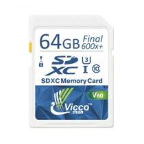 کارت-حافظه-sdhc-ویکومن-مدل-extra-600x-سرعت-90mb-s-ظرفیت-64