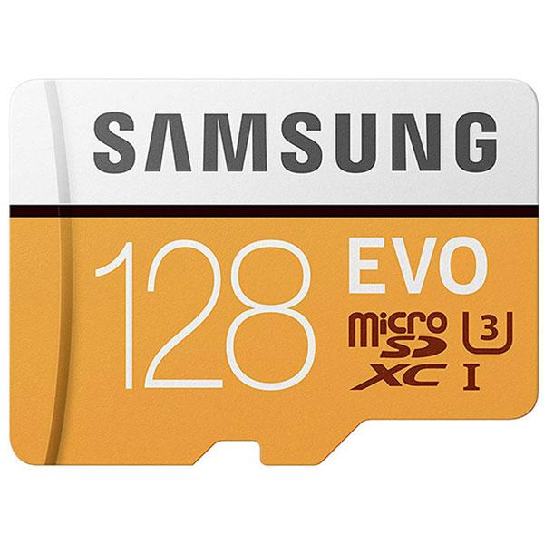 کارت حافظه MicroSD سامسونگ سری Evo با ظرفیت 128 گیگ
