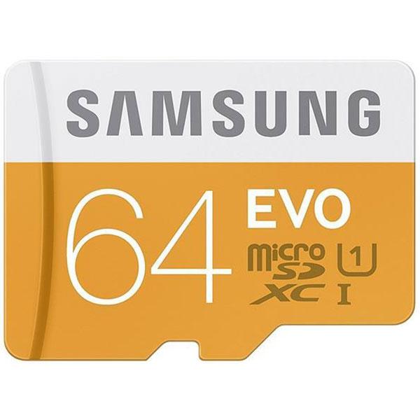 کارت حافظه MicroSD سامسونگ سری Evo با ظرفیت 64 گیگ