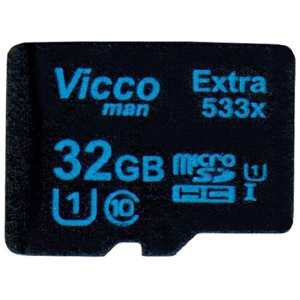 کارت حافظه microSDHC ویکومن مدل Extra533X ظرفیت 32گیگ