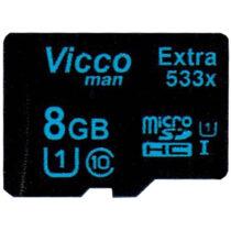 کارت حافظه microSDHC ویکومن مدل Extra533X ظرفیت 8گیگ