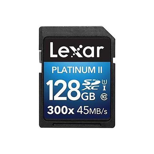 کارت حافظه microSDXC لکسار مدل High-Performance کلاس 10 استاندارد UHS-I U1 سرعت 45MBps 300X همراه با آداپتور SD ظرفیت 128 گیگابایت