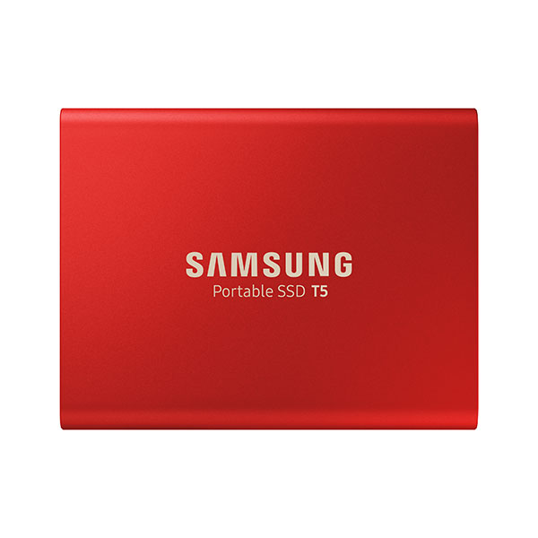 حافظه SSD اکسترنال سامسونگ مدل T5 ظرفیت 1 ترابایت قرمز