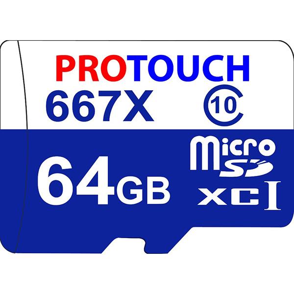 کارت حافظه microSDXC پروتاچ مدل Ultra کلاس 10 استاندارد UHS-1 U1 سرعت 100MBps ظرفیت 64 گیگابایت