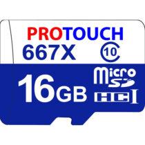 کارت حافظه microSDXC پروتاچ مدل Ultra کلاس 10 استاندارد UHS-1 U1 سرعت 100MBps ظرفیت 16 گیگابایت