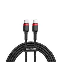 کابل USB-C باسئوس مدل Cafule PD2.0 طول 1 متر سیاه و قرمز