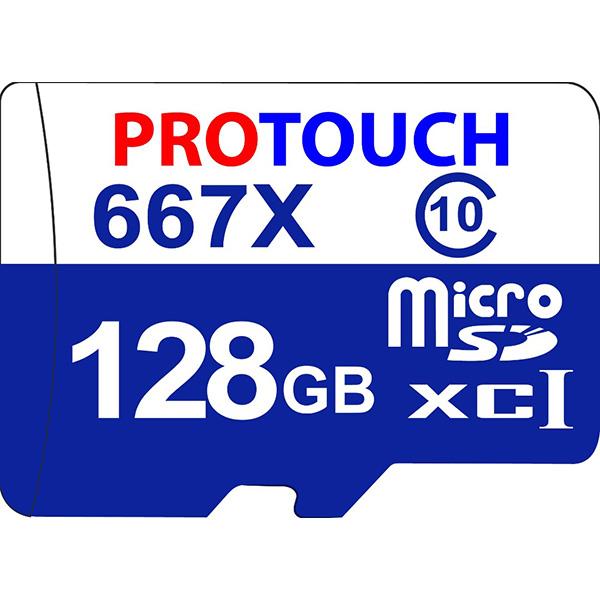 کارت حافظه microSDXC پروتاچ مدل Ultra کلاس 10 استاندارد UHS-1 U1 سرعت 100MBps ظرفیت 128 گیگابایت