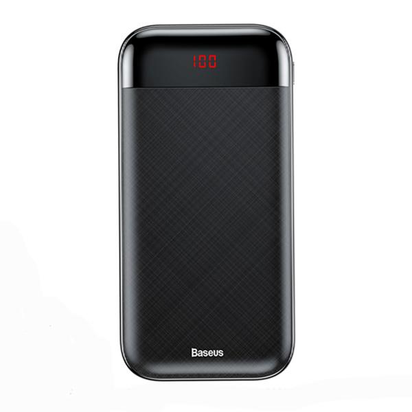 پاوربانک فست شارژ باسئوس Baseus PPALL-CKU01 Mini CU Digital Display سیاه