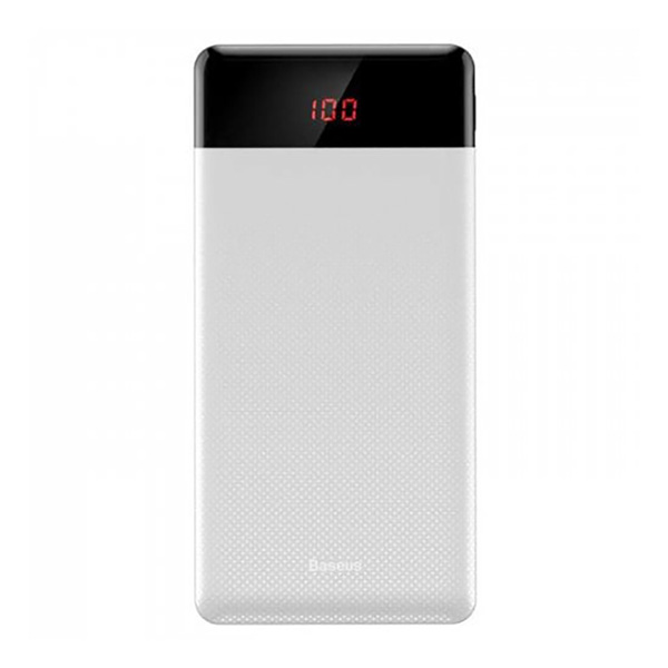 پاوربانک فست شارژ باسئوس Baseus PPALL-CKU01 Mini CU Digital Display سفید