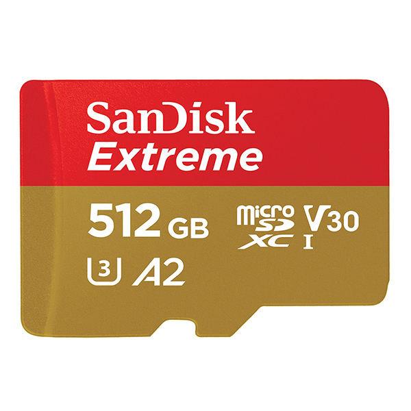 کارت حافظه microSDXC سن دیسک Extreme ظرفیت 512 گیگابایت
