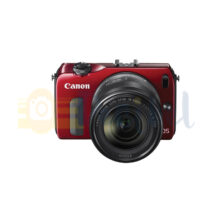 دوربین کانن EOS M همراه با لنز کانن 55-18 و لنز کانن 22 و فلاش