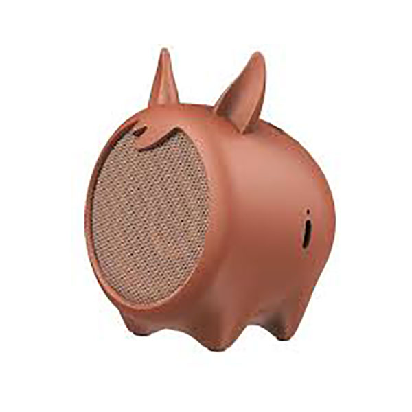 اسپیکر بلوتوث باسئوس مدل Baseus•Q Chinese Zodiac Wireless-Horse E06 Brown