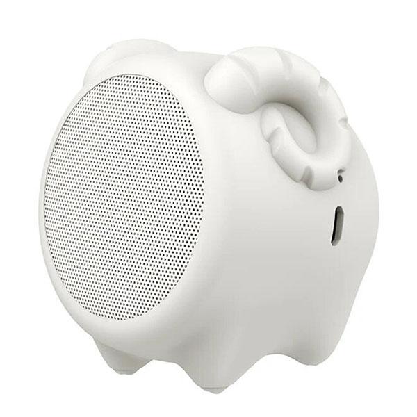 اسپیکر بلوتوث باسئوس مدل Baseus•Q Chinese Zodiac Wireless Speaker-Sheep E06 Milky White