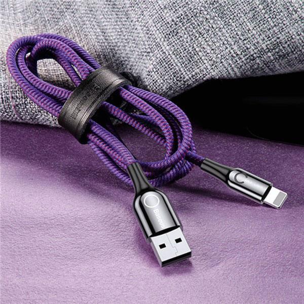 کابل شارژ C-shaped Light Intelligent power-off Cable باسئوس