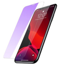 گلس گوشی مدل 0.15mm Full-glass Anti-bluelight Tempered Glass Film for iPX/XR/XS/ XS Max/iP11/ Pro/Pro Maxباسئوس