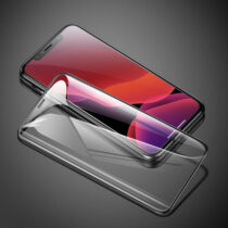 گلس گوشی مدل 0.3mm Full-screen and Full-glass with anti-blue light Tempered Glass Film for iPX/XR/XS/ XS Max/iP11/ Pro/Pro Max باسئوس