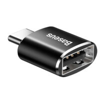تبدیل USB به Type-C مدل Adapter Converter Black باسئوس