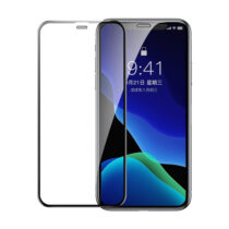 گلس گوشی مدل Baseus full screen curved tempered glass For iPX/XR/XS/XS Max/iP11/Pro/Pro Max باسئوس