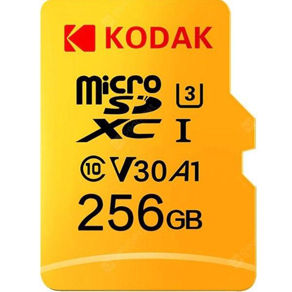 کارت حافظه microSDXC کداک کلاس 10 استاندارد UHS-I U3 ظرفیت 256 گیگابایت