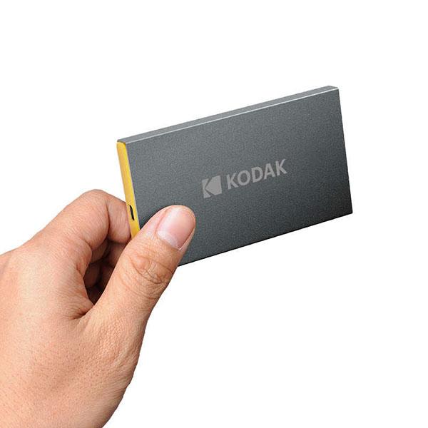 هارد اکسترنال اس اس دی کداک X250 با ظرفیت 120 گیگا بایت