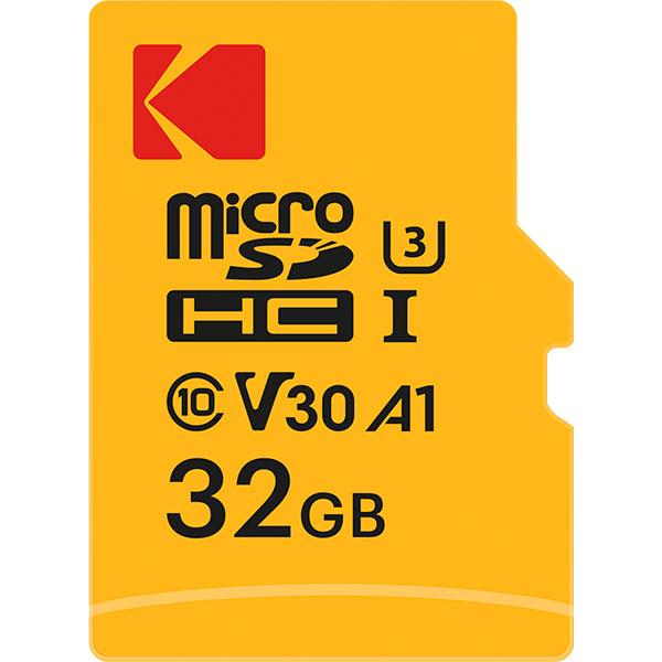 کارت حافظه microSDXC کداک کلاس 10 استاندارد UHS-I U3 ظرفیت 32 گیگابایت