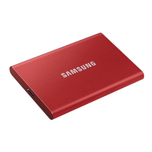 هارد SSD اکسترنال سامسونگ مدل T7 ظرفیت 2 ترا بایت